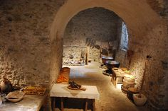 Dover Castle - Medieval Kitchens by Le Monde1, via Flickr