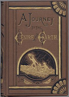A Journey to the Center of the Earth  is a classic 1864 science fiction novel by Jules Verne. The story involves a German professor (Otto Lidenbrock in the original French,Professor Von Hardwigg in the most common English translation who believes there are volcanic tubes going toward the center of the Earth.