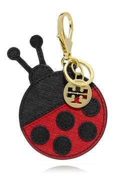 Tory Burch Kerrington Lady Bug Key Fob