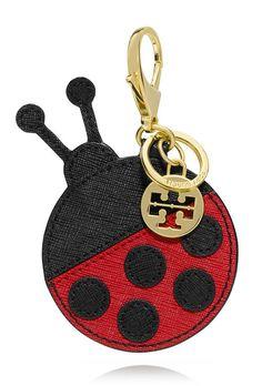 Tory Burch Kerrington Lady Bug Key Fob