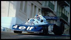 Long Beach Patrick Depailler Tyrrell P34