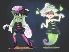 Zombie and Ghost Squids