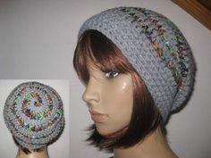 Mützen - Mütze im Spiral-Design, Beanie, Häkelmütze - ein Designerstück von IDS-Style bei DaWanda