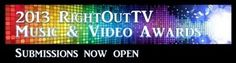 Third Annual RightOutTV Music and Video Awards Call Out to LGBTI Artists Worldwide #LGBT #lesbian #artist #singer #award