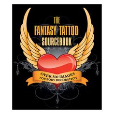 The Fantasy Tattoo Sourcebook now featured on Fab.