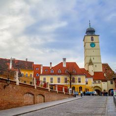 Sibiu, Romania. Photo courtesy of effitimonholiday on Instagram.
