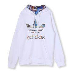 オリジナルス パーカー [CATALOGUE TREFOIL HOODIE]   アディダス オンラインショップ -adidas 公式サイト-