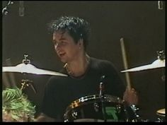England 1998 :) Billie playing drums