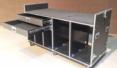 18U-72U-rolling-audio-rack-mount-flight-road-case-portable-box-crate-FOH-sound