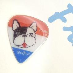 FaMa‧s Pick吉他彈片-嘣啾呵!法國鬥牛犬 - FaMa‧s Pick | Pinkoi