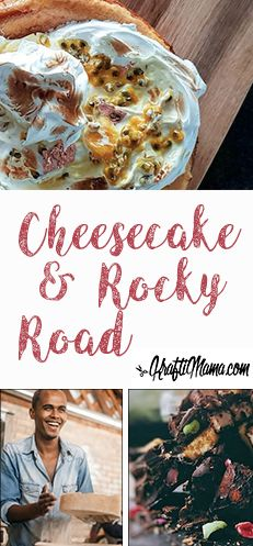 Two Great Sweet Treats for the Long Weekend - KraftiMama Baked Cheesecake Recipe, No Bake Cheesecake, Shortbread Biscuits, Speckled Eggs, Rocky Road, Baking Tins, Mini Marshmallows, Mud Pie, Long Weekend