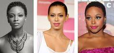 Korte afro kapsels vrouwen