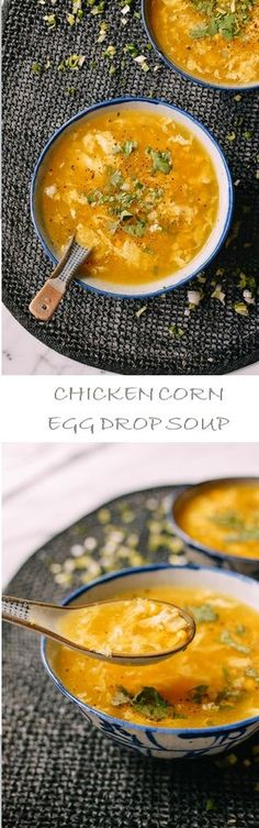 Chicken Corn Egg Drop Soup Recipe by the Woks of Life