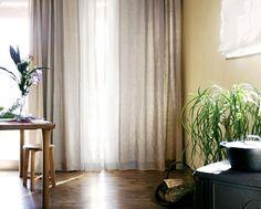 天然生成の国産リネンカーテン【パトリ】日本製 linen curtains