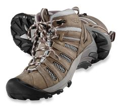 Womens Keen Hiking boots.  These are the BEST hiking boots EVER. Waterproof, warm, comfortable,supportive...LOVE!
