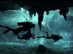 Cenote Dos Ojos Photos Scuba diving Cavern Cave in The Riviera Maya Tulum Playa del Carmen