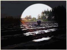 De foto-inzendingen van de fotowedstrijd ' Boeren in Cranendonck'. Met het thema het boerenbedrijf in de gemeente Cranendonck anno 2003. Een landbouwer aan het werk op zijn land aan De Vinnen in Maarheeze