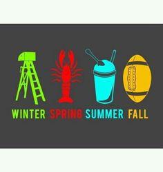 Louisiana Seasons...Mardi Gras Season, Crawfish Season, Snowball Season and Football Season