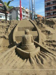 Pescador de arena.