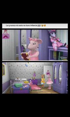 Angelina bailarina, mi infancia Kid Memes, Funny Memes, Angelina Bailarina, Desenhos Cartoon Network, Funny Spanish Memes, Stranger Things Netflix, Reaction Pictures, Best Memes, Kawaii Anime