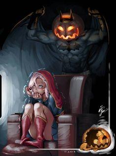 Spooky Halloween Batman