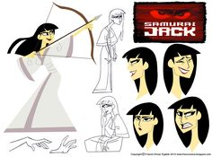 Character Design Assignment Two: Samurai Jack by chillyfranco.deviantart.com on @deviantART