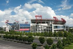 LP Field - Home of the Tennessee Titans - Nashville, TN.