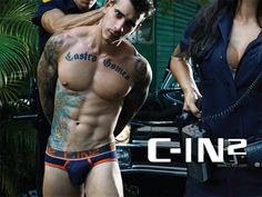 C-IN2's Filthy Campaign by Rick Day #sexy #tattoo #guy 1