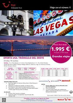 ¡Grandes  viajes! Oferta USA: Triángulo del Oeste. Precio final desde 1.995€ - http://zocotours.com/grandes-viajes-oferta-usa-triangulo-del-oeste-precio-final-desde-1-995e-11/
