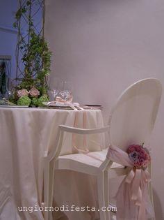 sedia per il matrimonio