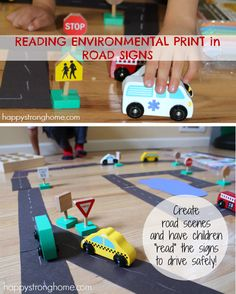 """All the """"Signs"""" of Pre-Literacy – Environmental Print Activities"""