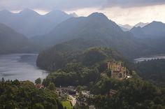 Hohenschwangau Castle | Meleah Reardon on Flickr