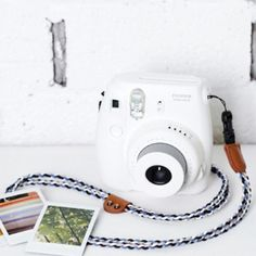 Instax Mini Camera Strap Fujifilm Camera Braiding by MaterialDream