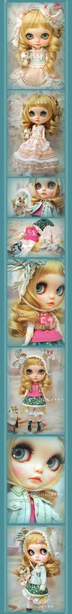Custom Blythe dolls: Custom Blythe Chipmunk Princess by Asterisk - A Rinkya Blog