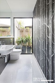 Platinum Honed Terrazzo Tile Flooring by Fibonacci Stone (galleryres6)