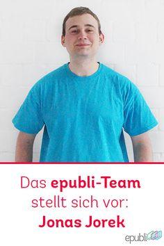 Das epubli-Team stellt sich vor: Jonas Jorek http://www.epubli.de/blog/jonas-jorek