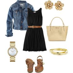 Summertime dinner date night outfit