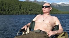Vladimir Putin–dictator, persecutor of gays, war criminal, charmer of Megyn Kelly and tigers–has released a new set of Siberian vacation photos seven months ahead of the next Russian presidential election. And daaaaaamn look at those pecs.