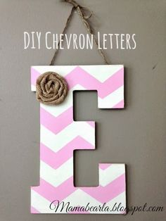 How To Make A Towel Hook Using Wooden Letters  Bathroom