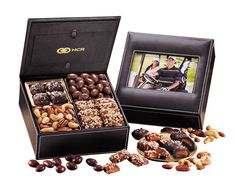 On the 1st day of Christmas, Maple Ridge gave to me . . . a box of chocolates in a photo frame