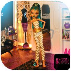 Monster High Nefera De Nile Jumpsuit by HauntCoutureAtelier, $11.00