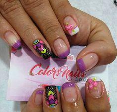 Beauty Nails, Hair Beauty, Short Nails, Summer Nails, Arts And Crafts, Nail Art, Color, Fairy, Enamel