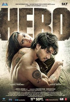 Salman Khan's finds Sooraj Pancholi and Athiya Shetty sizzle on the first poster of Hero! #SalmanKhan  #SoorajPancholi