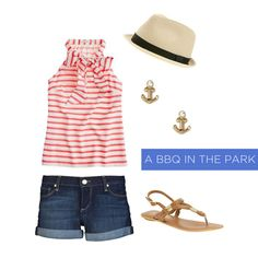 4th of july outfit/ summer nights
