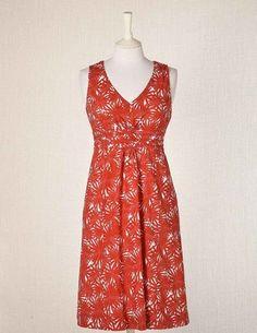 Boden Everyday Summer Dress -- Clementine Starburst