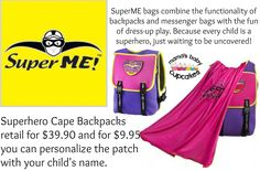 SuperME Kids Backpacks Review