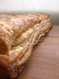 My Little Expat Kitchen: French puff pastry - Pâte feuilletée Full recipe French Puff Pastry, French Pastries, Other Recipes, New Recipes, No Bake Desserts, Dessert Recipes, Homemade Seasonings, Bread Cake, Pastries