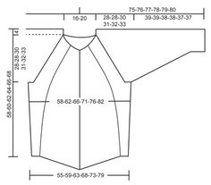 """Knitted DROPS jacket with textured pattern, wide sleeves and deep raglan in """"Lima"""". Size: S - XXXL. ~ DROPS Design"""