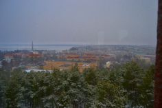 View from the tower of Pyynikki Tampere Finland