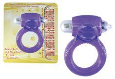 Vibrador Lengua – Anillo súper elástico que tiene un potente micro estimulador para utilizar haciéndole cosquillas a el clítoris o testículos.